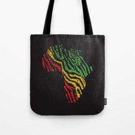 Reggae Africa Tote Bag
