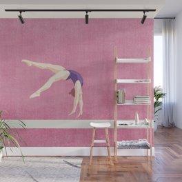 SUMMER GAMES / artistic gymnastics Wall Mural