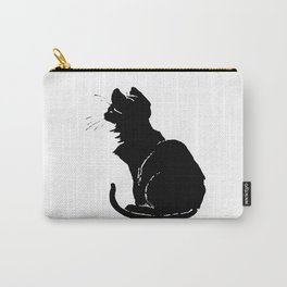 Life With Black Cats Vector Carry-All Pouch