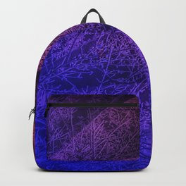 Pleated fantasy forest Backpack
