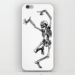 DANCING SKULL iPhone Skin
