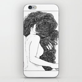 asc 590 - Le peigne (Combing her hair) iPhone Skin