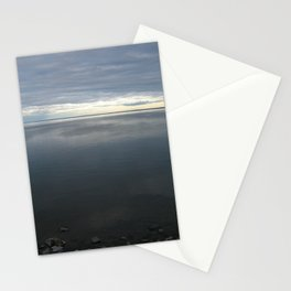 Over the Lake the Sun Peeks  Stationery Cards