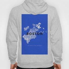 Boston Map Hoody