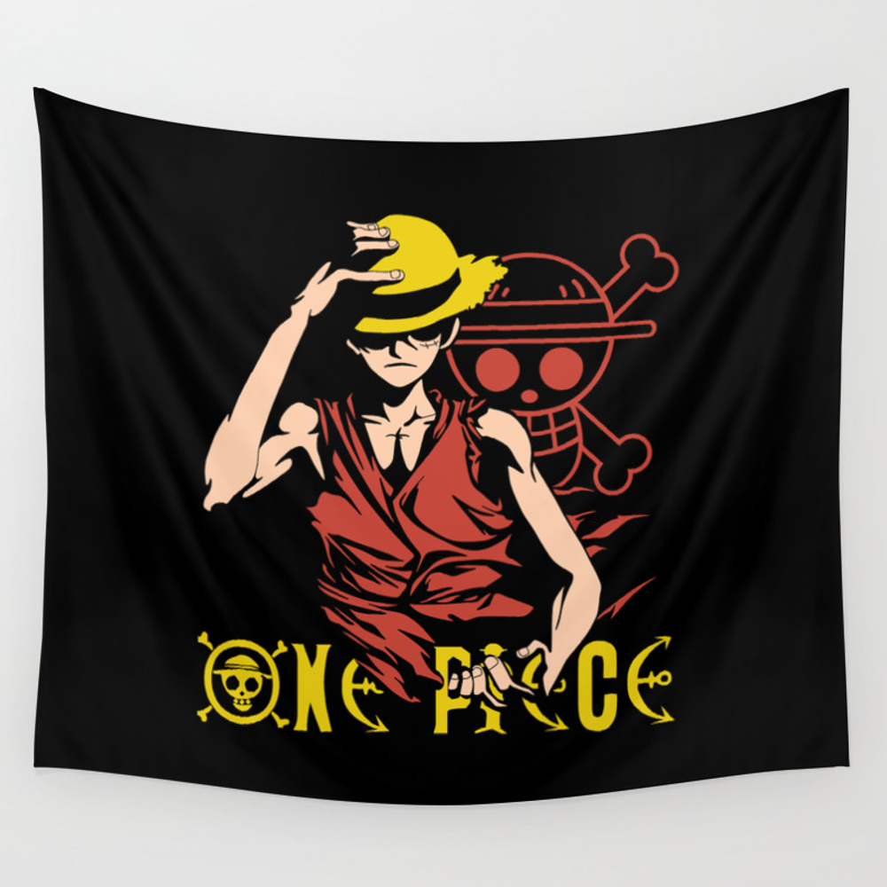 Monkey D Luffy - One Piece Anime Wall Tapestry by Malaqueen TPS8076010