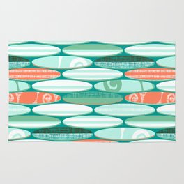 Simply Surf Boards Rug