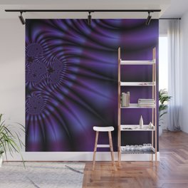 Paint The Town Purple Wall Mural