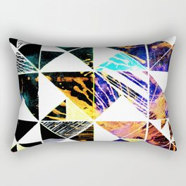 ABSTRACT triangle Rectangular Pillow