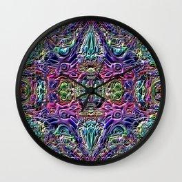 Ridged Patterns 3 A Wall Clock