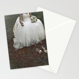 Bride is tired  Stationery Cards