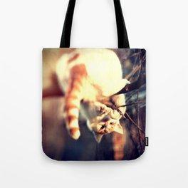 Lomo Cat Tote Bag