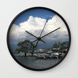 Puerto Princesa II Wall Clock