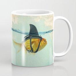Brilliant DISGUISE - Goldfish with a Shark Fin Coffee Mug