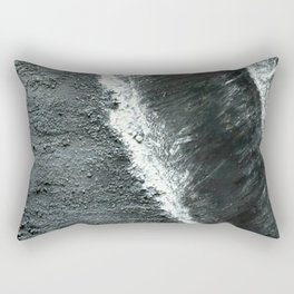 Black Sands of Iceland (2) Rectangular Pillow
