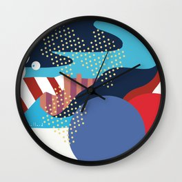Solange Wall Clock