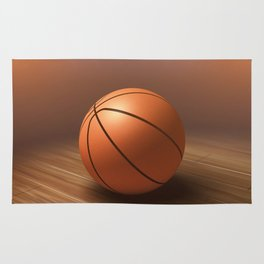 Basketball game Rug