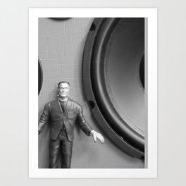Speaker Monster Art Print