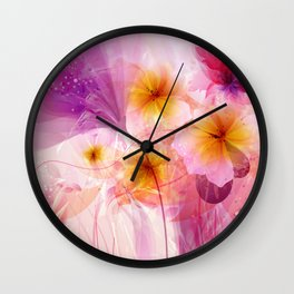 Electric Love Wall Clock