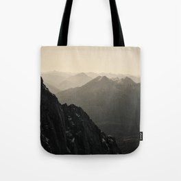 Mountain Side Color Photography Germany Europe Nature Tote Bag
