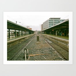 Railway Run Art Print