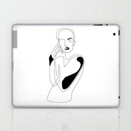 Lined pose Laptop & iPad Skin