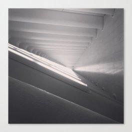 White Spaces Canvas Print
