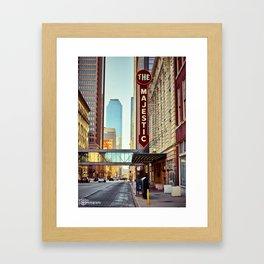 Elm Street Framed Art Print