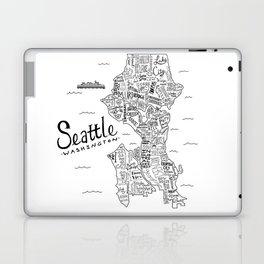 Seattle Map Laptop & iPad Skin