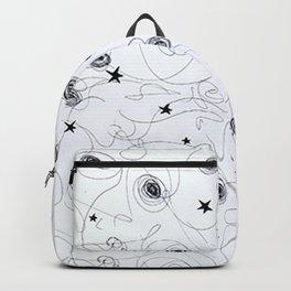 étoiles et trourbillons Backpack