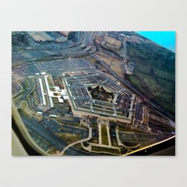 The Pentagon Canvas Print