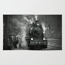 Steam Engine Rug