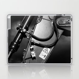 Arm of Power Industrial Hydraulic Digger System Laptop & iPad Skin