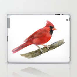 Red Cardinal Watercolor Laptop & iPad Skin