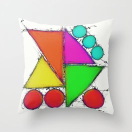 Sweetened edge Throw Pillow