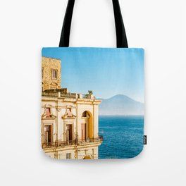 Donn'Anna palace, Naples Tote Bag