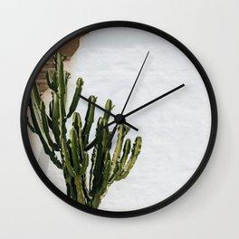 California Cactus Wall Clock