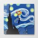 Tardis Balloons Starry Night by inara