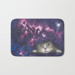 Rip in the Fabric of Space Bath Mat
