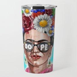 Dope Frida Travel Mug