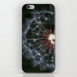 Dandelion seeds iPhone Skin