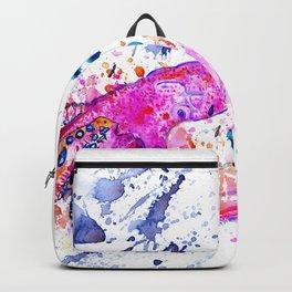 Purple Octopus Backpack
