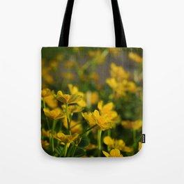Marsh Marigold Tote Bag