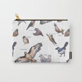 Northern Nevada Backyard Birds Carry-All Pouch