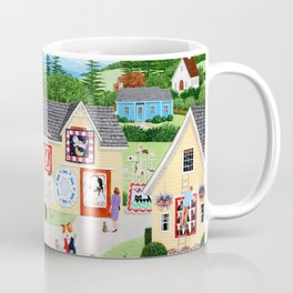 The Calico Cat Quilt Shop Coffee Mug
