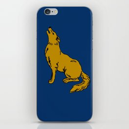 The Golden Coyote iPhone Skin