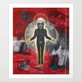 Saint LeRoy of the Sacred Faceless Avatar Art Print