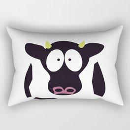Cow in Cartoon Stlye Rectangular Pillow