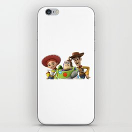 3 story toy iPhone Skin