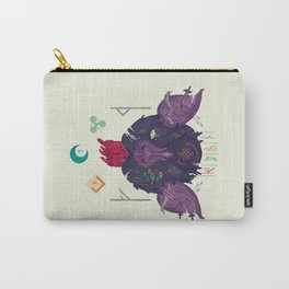 Runic Bat Carry-All Pouch