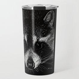 The Curious Raccoon Travel Mug